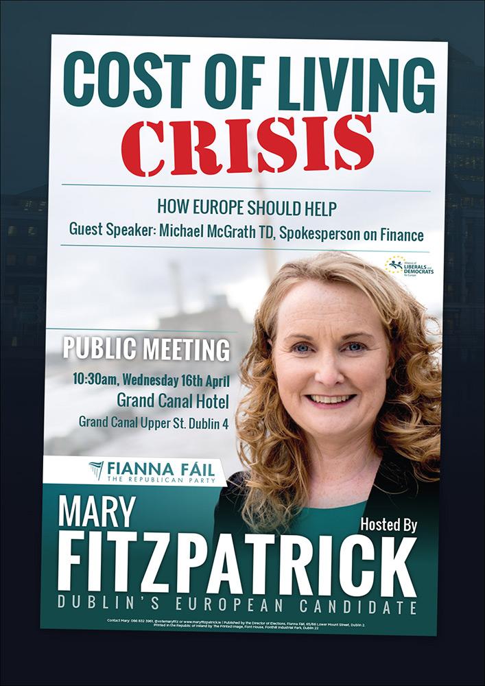 Fianna Fáil European Election Mary Fitzpatrick
