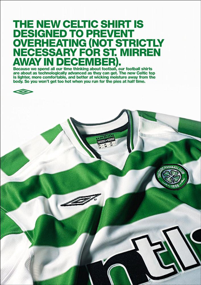Umbro - Celtic Kit Advert