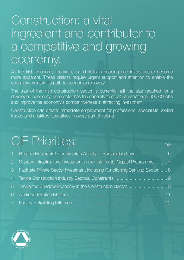 CIF Budget 2015 Submission