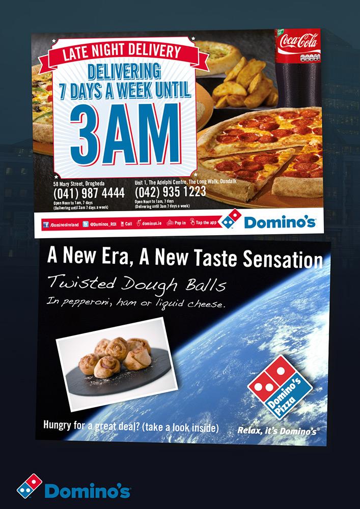 Domino's Pizza Collateral