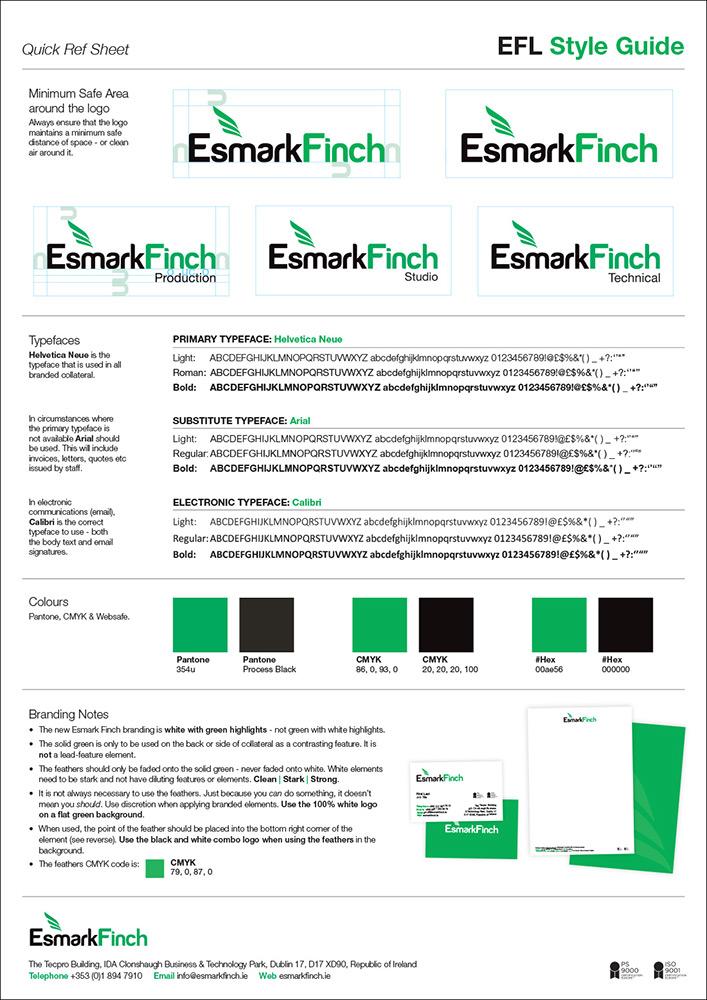 Esmark Finch Brand Development