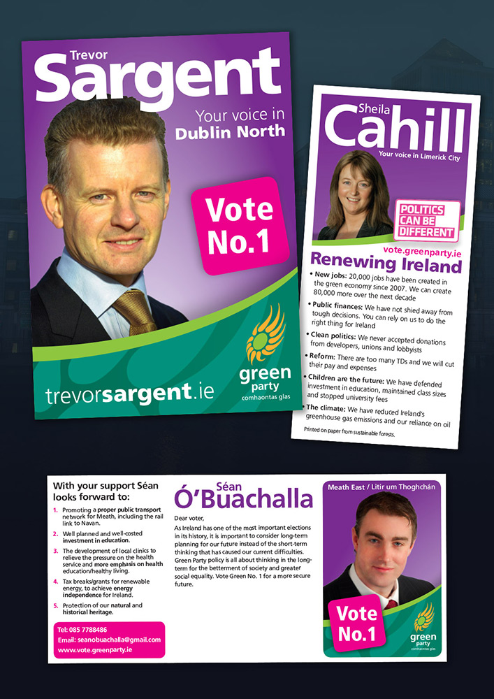 Green Party 2011 Election Literature