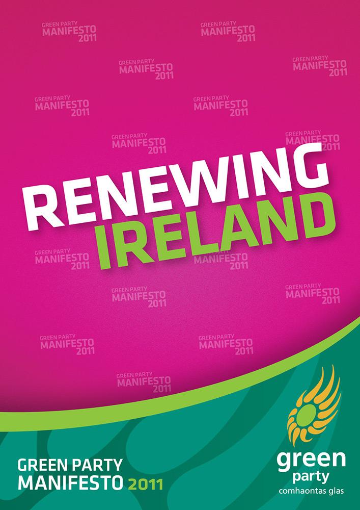 Green Party 2011 Election Manifesto