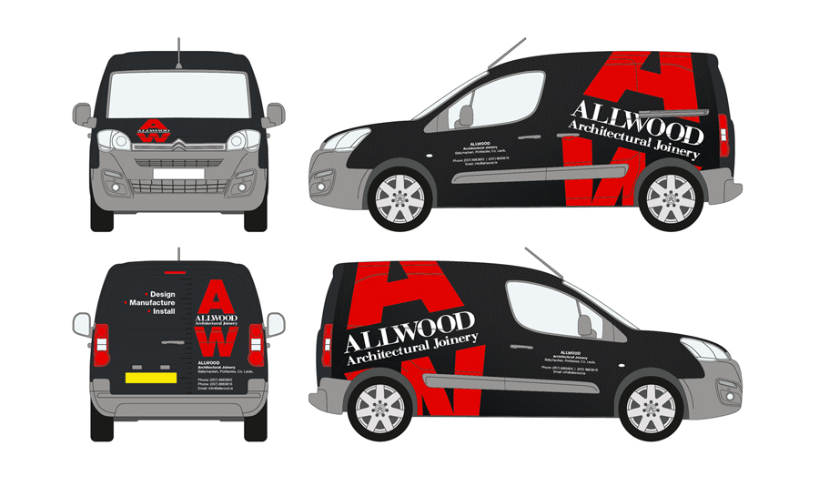 Allwood Vehicle Wrap