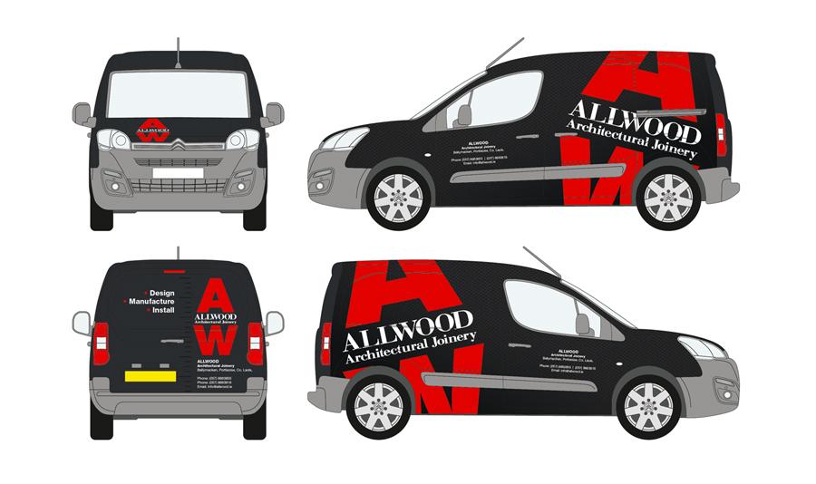 Allwood Vehicle Wrap