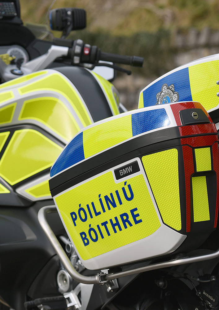 An Garda Síochána Vehicle Decals