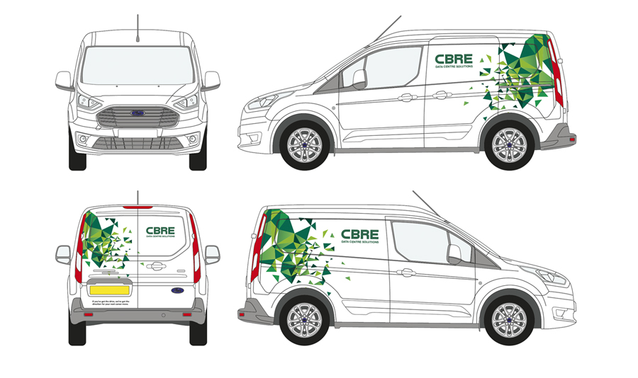 CBRE Vehicle Wrap 02