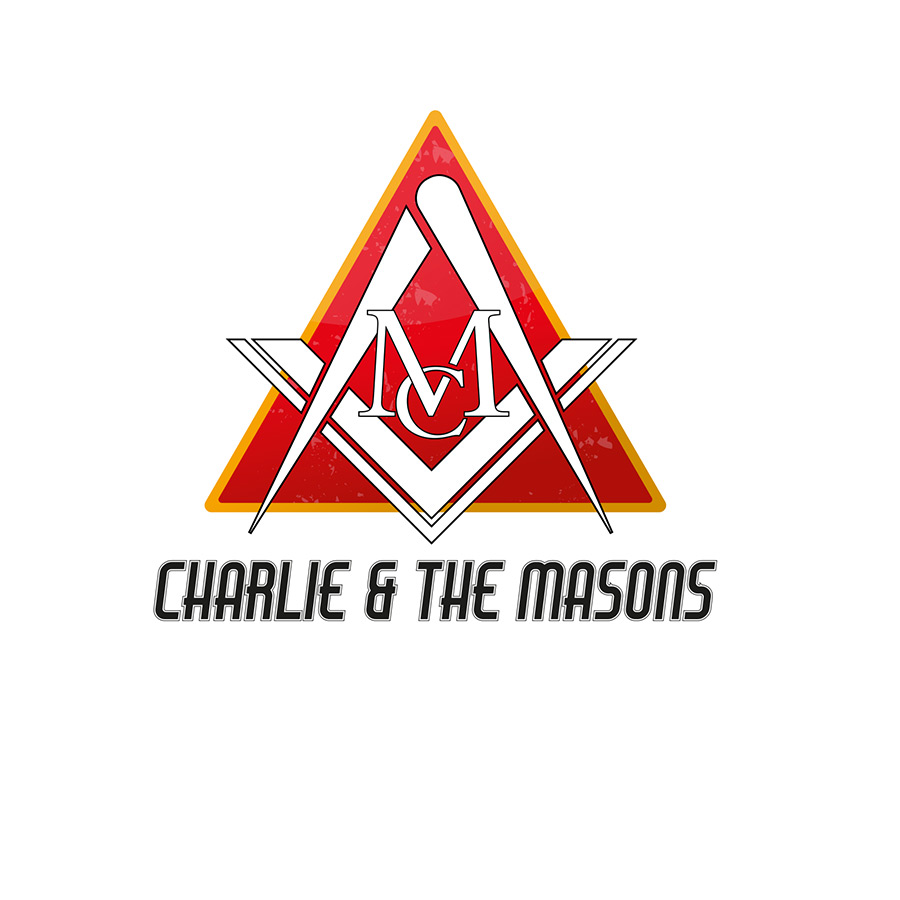 Charlie & The Masons - Rock Band Logo