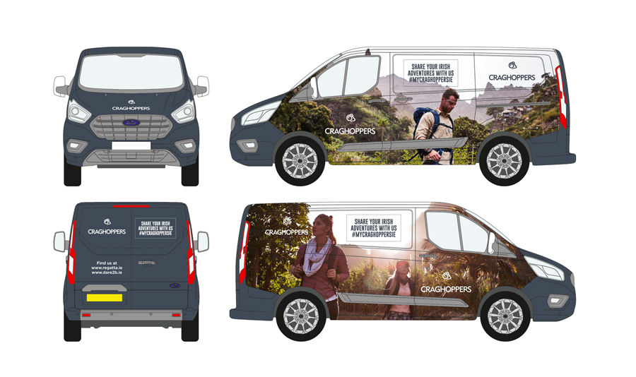 Craghoppers Vehicle Wrap
