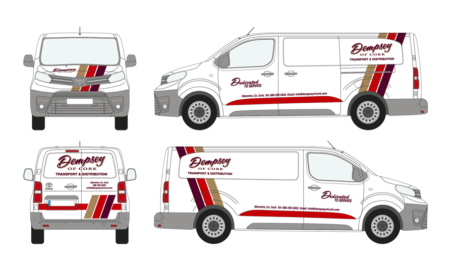 Dempsey of Cork Vehicle Wrap