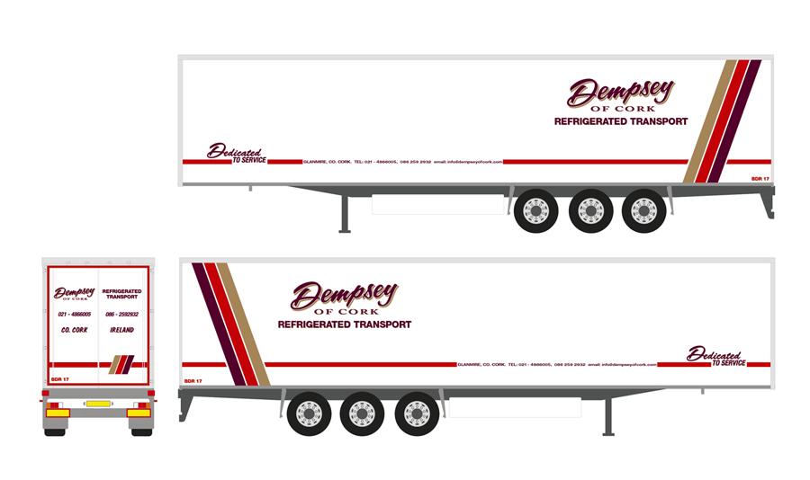 Dempsey of Cork Vehicle Wrap