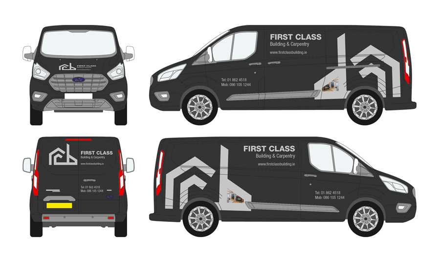 First Class Vehicle Wrap