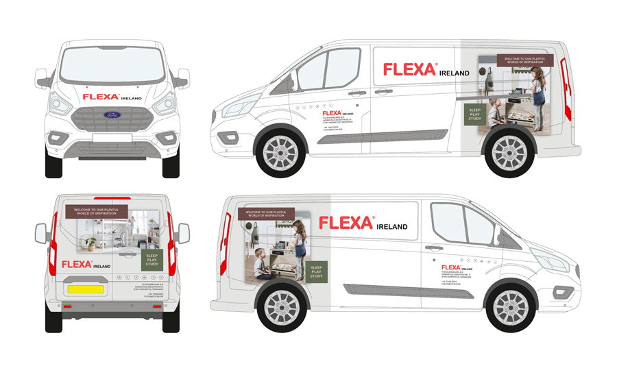 Flexa Vehicle Wrap