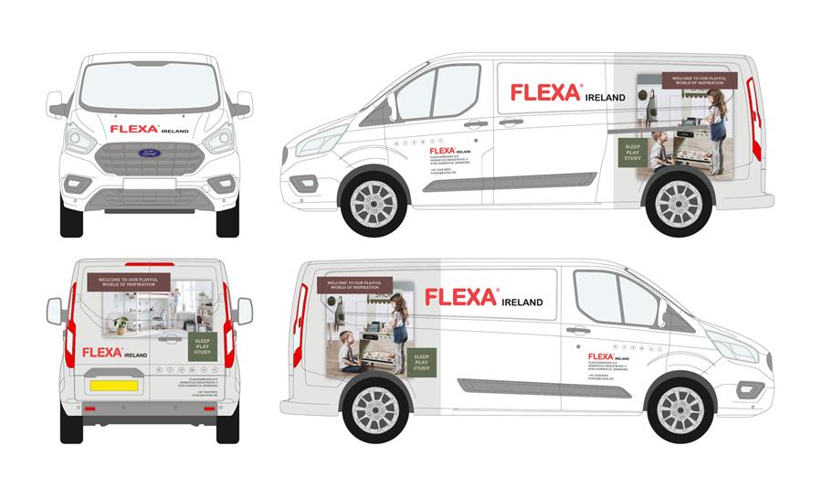Flexa Vehicle Wrap