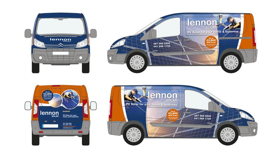 Lennon Solar Vehicle Wrap