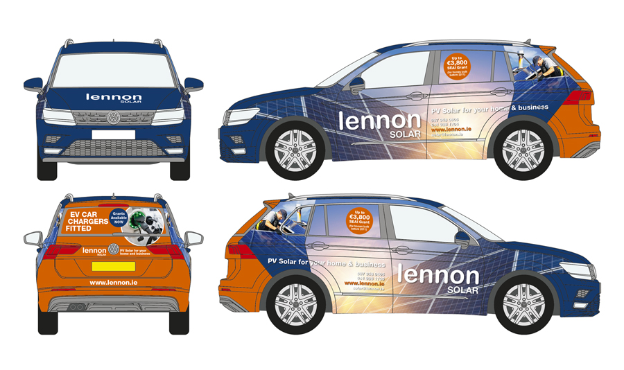 Lennon Solar Vehicle Wrap