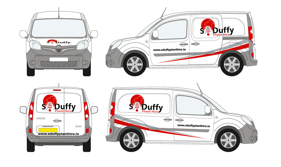 S Duffy Plant Hire Vehicle Wrap 02