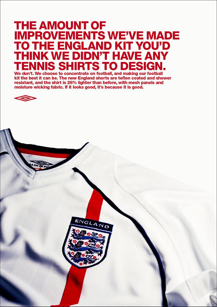 Umbro - England Kit Advert